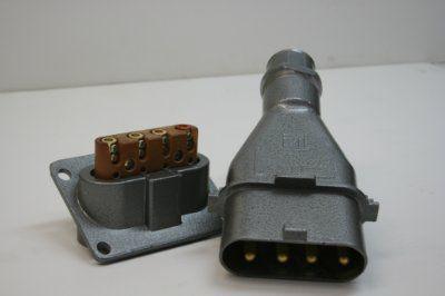 Розетка щитовая(кабельная)