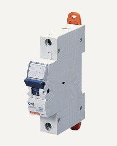 Выключатель автоматический GEWISS - 1P C40 6KA 1M Арт.GW920011