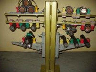 узел крепления кабеля 6-УК-1-3-485/650 треугольником