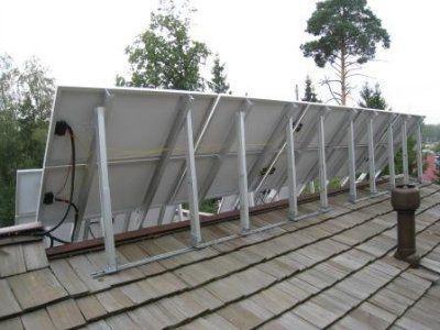 Источник автономного питания, солнечная установка 2280-48/4,5 кВт