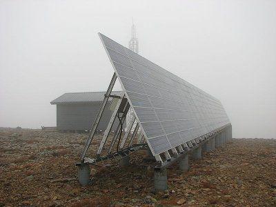 Солнечная энергетическая система электропитания телекоммуникационного оборудования  Naps NSCi-8400