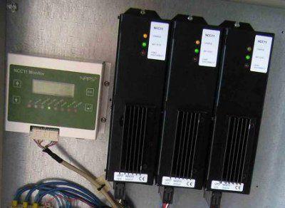Модульный контроллер заряда-разряда NCC11 для промышленных фотоэлектрических систем