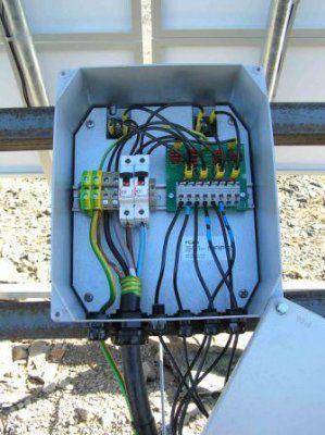 Модульный центр PC404 для телекоммуникационных систем на солнечных батареях