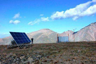 Солнечная генераторная установка Naps NCC11-2700 для радиорелейной линии (РРЛ) связи