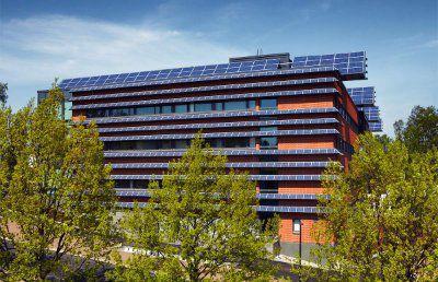 Солнечная сетевая электростанция 98 кВт для энергоснабжения здания