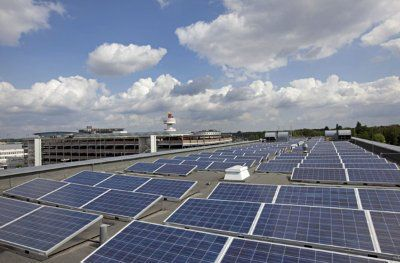 Солнечная электростанция 128 квт для предприятий