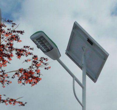 Светодиодный светильник КАО-260-40 с датчиком движения для уличного автономного освещения