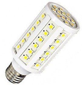 Светодиодная лампа 220В L-60SMD-9W E27 для солнечных панелей