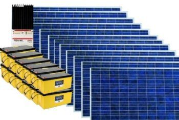 солнечная электростанция 2,4/3 кВт