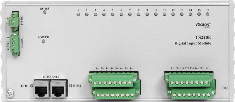 Модуль дискретного ввода TS220E