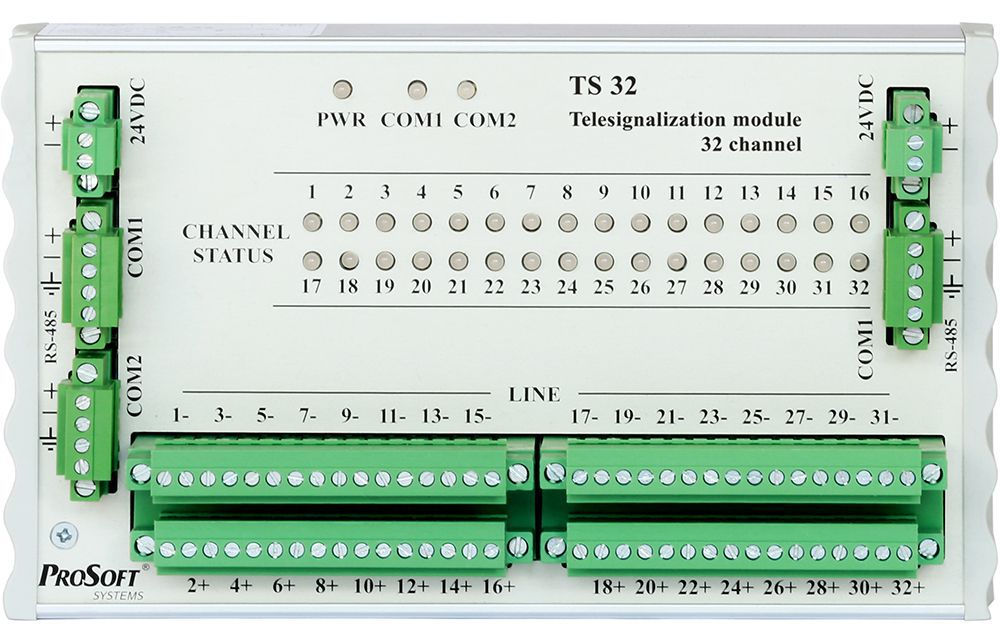 Модуль дискретного ввода ТS32