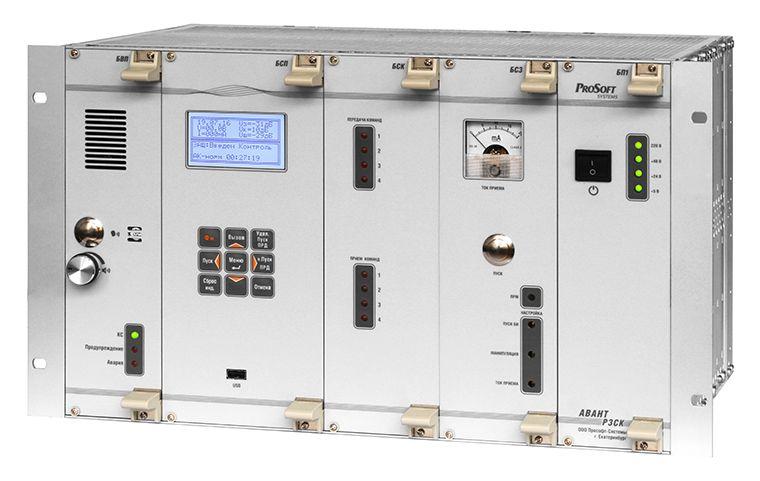 Приемопередатчик сигналов и команд релейной защиты по цифровым каналам АВАНТ РЗСК-М/ВОЛС