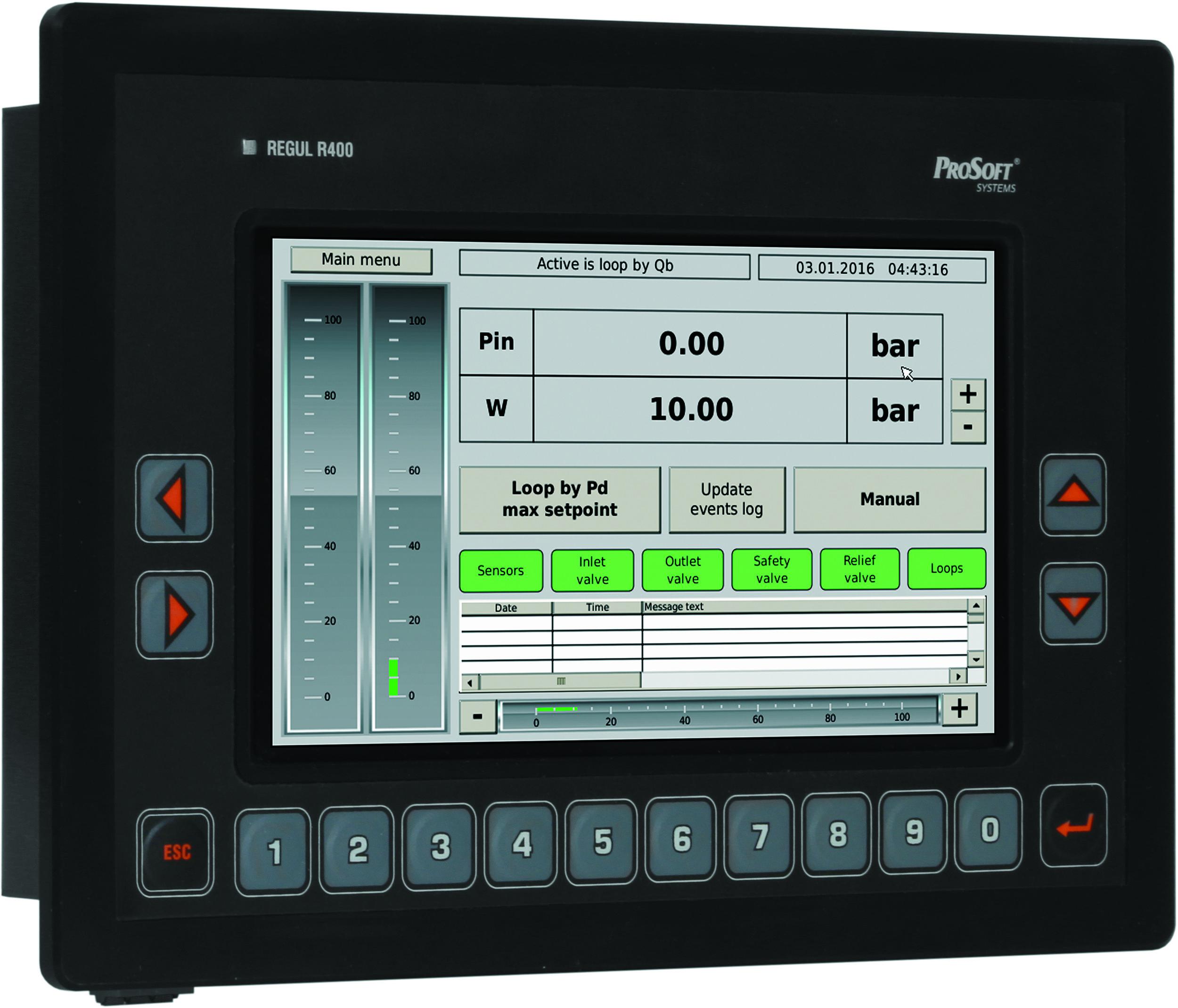 Программируемый логический контроллер REGUL R400