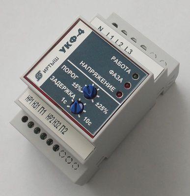 Устройство контроля фаз УКФ-4