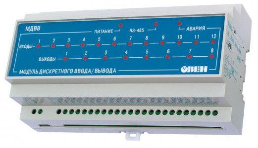 МДВВ модуль дискретного ввода/вывода