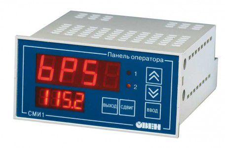 СМИ1 панель оператора с цифровой индикацией