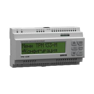 ТРМ133М для регулирования температуры в приточно-вытяжных системах вентиляции с водяным или фреоновым охладителем
