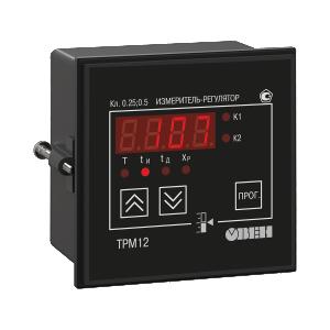 ТРМ12 ПИД-регулятор для управления задвижками и трехходовыми клапанами