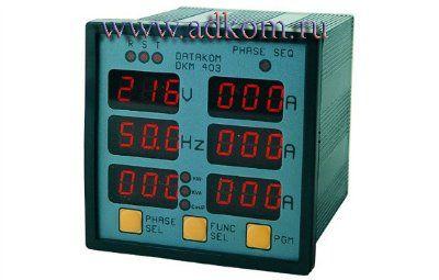 Измерительная панель DKM-403