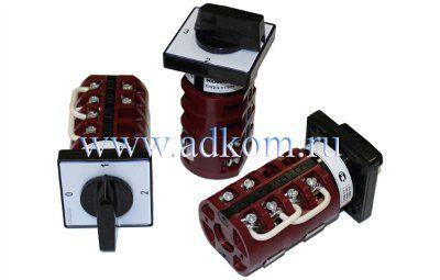 Кулачковые переключатели для амперметров и вольтметров Cерия GN и GX