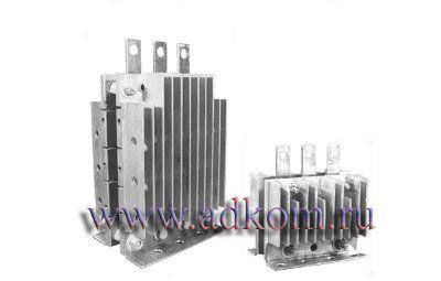 Блоки полупроводниковые выпрямительные БПВ39-В6-80/100-315