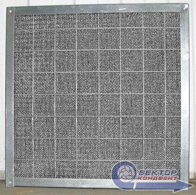 Фильтр воздушный ячейковый жироуловитель ФяЖ-1,8-оц 500х500х30 мм