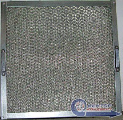 Фильтр воздушный ячейковый жироуловитель ФяЖ-3,0-оц/40 650х650х40 мм