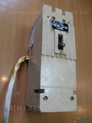 Автоматический выключатель А 3716 ФУЗ 160А с независимым расцепителем