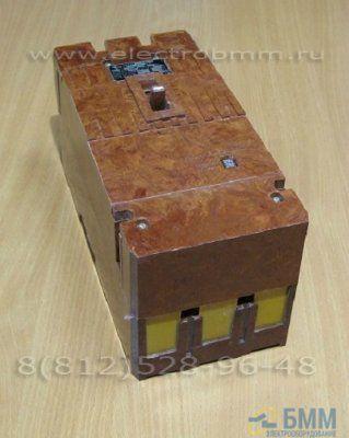 Автоматический выключатель А 3722 БУЗ 250А