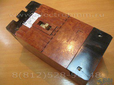 Автоматический выключатель А 3726 БУЗ 160А