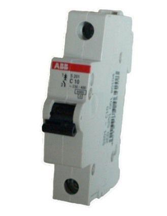Автоматический выключатель АВВ S201 C10 1Р 10А, арт. 2CDS251001R0104