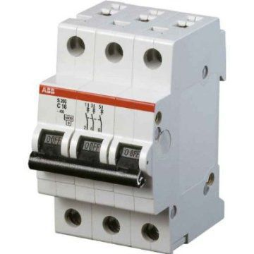 Автоматический выключатель АВВ S203 C6 1Р 6А, арт. 2CDS253001R0064