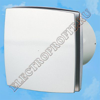 Вентилятор 100 ЛД Б алюм лак ВЕНТС осевой вытяжной стандарт бесшумный алюминий лакированный Ø100