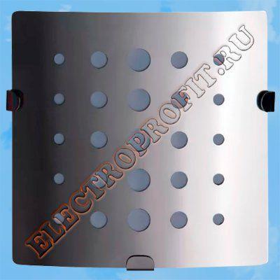 Вентилятор 100 З Стар 2 ВЕНТС осевой вытяжной стандарт панель из нержавеющей стали LED лампа D100