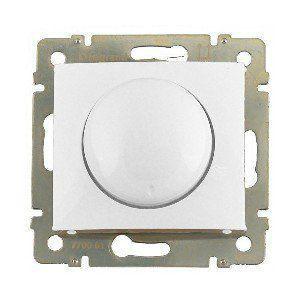 Светорегулятор поворотный 400вт VALENA  белый 770061