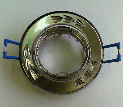 Светильник встр. поворотный СВ 02-01 MR16 50Вт G5.3 матовый никель/никель TDM SQ0359-0003