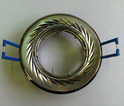 Светильник встр. поворотный СВ 02-02 MR16 50Вт G5.3 матовый никель/никель TDM SQ0359-0006