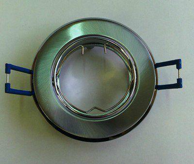 Светильник встр. поворотный СВ 02-03 MR16 50Вт G5.3 матовый хром/хром TDM SQ0359-0007