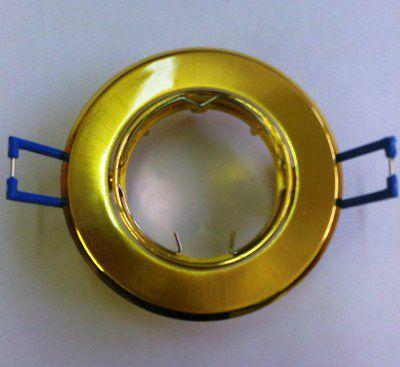 Светильник встраиваемый поворотный СВ 02-03 MR16 50Вт G5.3 матовое золото/золото TDM  SQ0359-0008