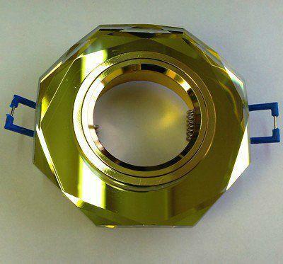 Светильник встраиваемый СВ 03-04 MR16 50Вт G5.3 жёлтый/золото TDM SQ0359-0053