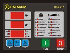 Модуль ручного запуска генератора DKG-317 Manual and Remote Start Unit