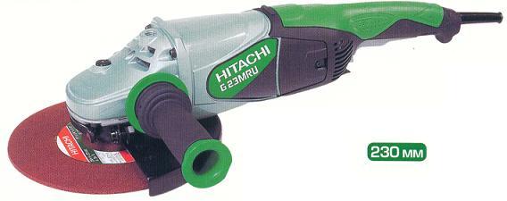 Машина шлифовальная угловая HITACHI G23MRU