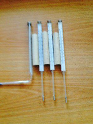 Термометр технический ртутный прямой ТТП L-103мм 0/+200С.