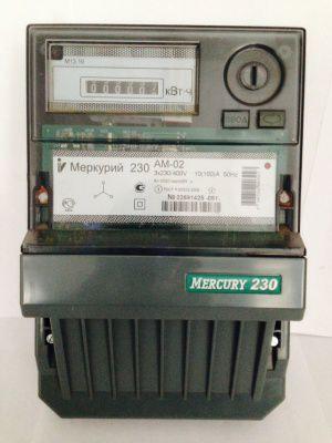 Счетчик электроэнергии Меркурий 230 АМ-02 10(100)