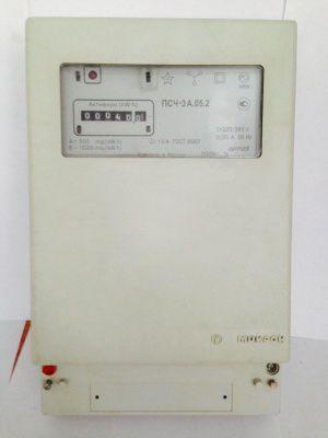 Счетчик электрический Микрон ПСЧ-3А.05.2 5(50)А