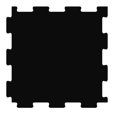Резиновая плитка для промышленного пола Резиплит-10 ТАБ