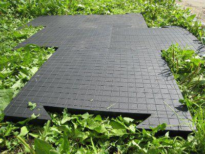 Резиновая плитка Модуль