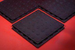 Промышленное резиновое напольное покрытие Резиплит - Монета