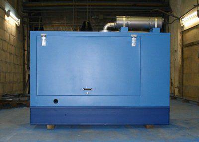 Дизель-генератор 160 кВт под капотом - в кожухе