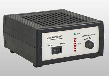 Зарядное устройство для автомобиля Орион 270